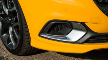 Vauxhall Corsa GSi review - bumper