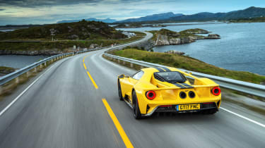 Ford GT review (AP) – rear tall tracking