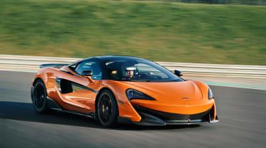 McLaren 600LT first drive - front quarer