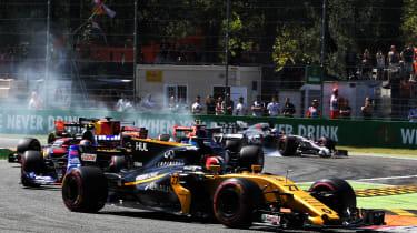 Formula One Round 13 - first turn