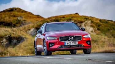 Volvo V60 R-design - nose