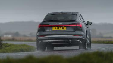 Audi e-tron S Sportback - rear