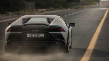 Lamborghini Huracan EVO silver - rera