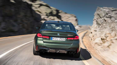 BMW M5 CS - shoot