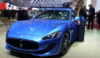 Geneva 2012: Maserati GranTurismo Sport