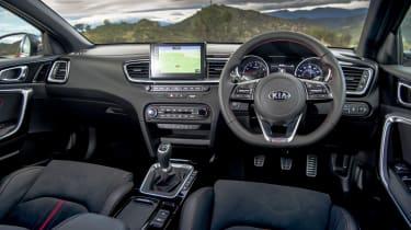 Kia Ceed GT review - interior
