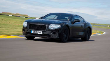 Bentley Continental GT - pre production driving 2