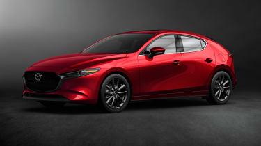 Mazda 3 hatch revealed - front quarter