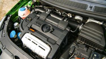 Skoda Fabia vRS – twincharger engine