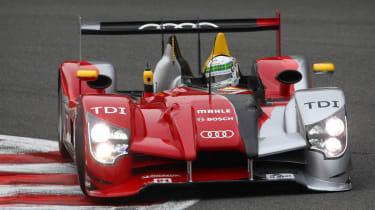 Audi Le Mans driver Allan McNish