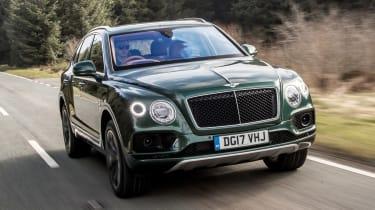 Bentley Bentayga Diesel - front tracking