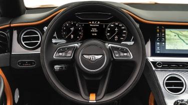 Bentley Continental GT Speed – dash