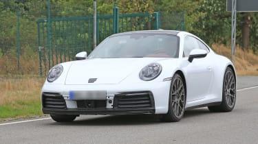 992 Porsche 911 spied - nose