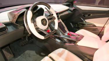 Lamborghini Urus SUV dashboard