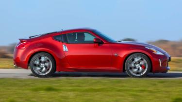 2013 Nissan 370Z red side profile