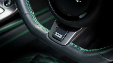 Lister Thunder – steering wheel