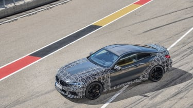 BMW M8 Competition prototype - top