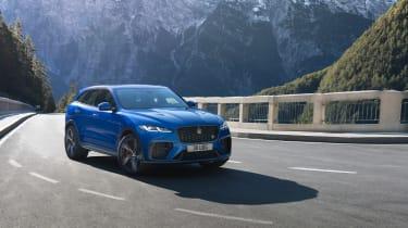 Jaguar F-Pace SVR 2021 front quarter