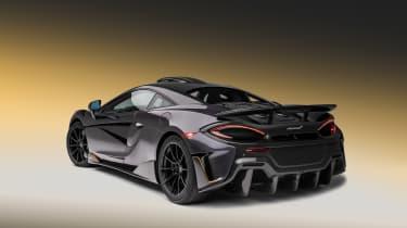 McLaren 600LT MSO - rear quarter