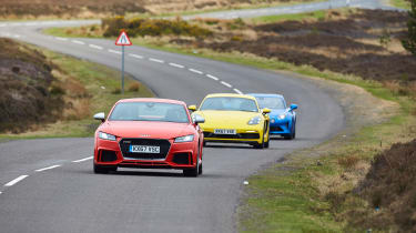 evo Supertest A110 vs rivals - nose