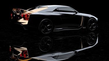 New Nissan GT-R50 by Italdesign prototype side rear
