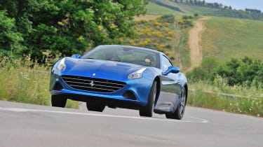 Ferrari California T drift