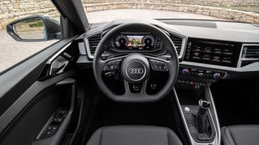 Audi A1 First Edition - teal interior