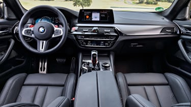 BMW M5 Competition review - dash
