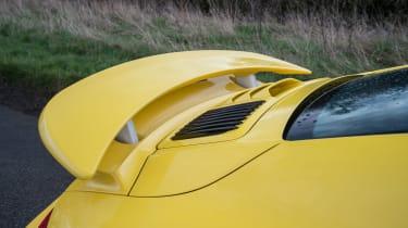 991.2 Porsche 911 Turbo S - rear wing
