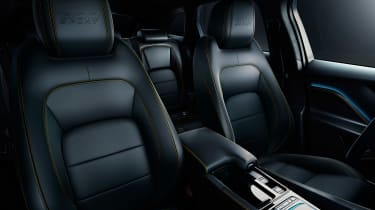 Jaguar F-Pace Chequered - seats