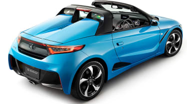 Honda S660 - rear quarter