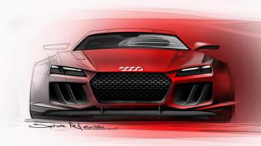 Audi Quattro concept front grille