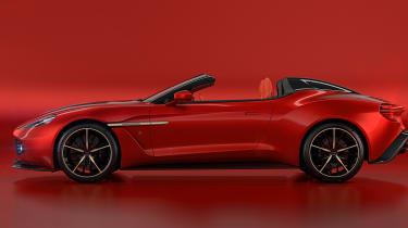Aston Martin Zagato Speedster - side profile