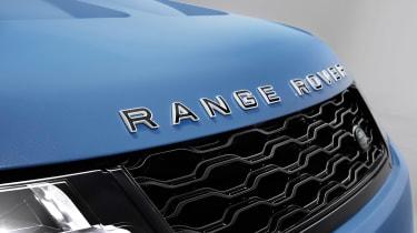 Range Rover Sport SVR Ultimate edition – badge