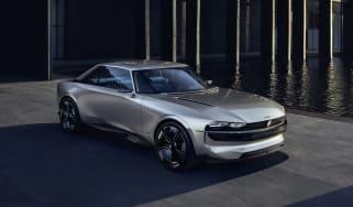 Peugeot e-Legend concept - front quarter