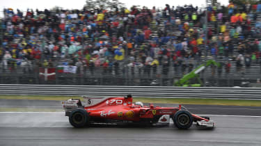 Formula One Round 13 - Ferrari side