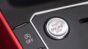 2018 VW Polo GTI – Start button
