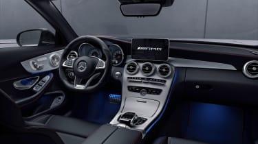Mercedes-AMG C43 Night Edition - interior