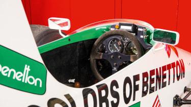 Used Formula 1 cars steering wheel