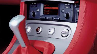 BMW Z8 – gear lever