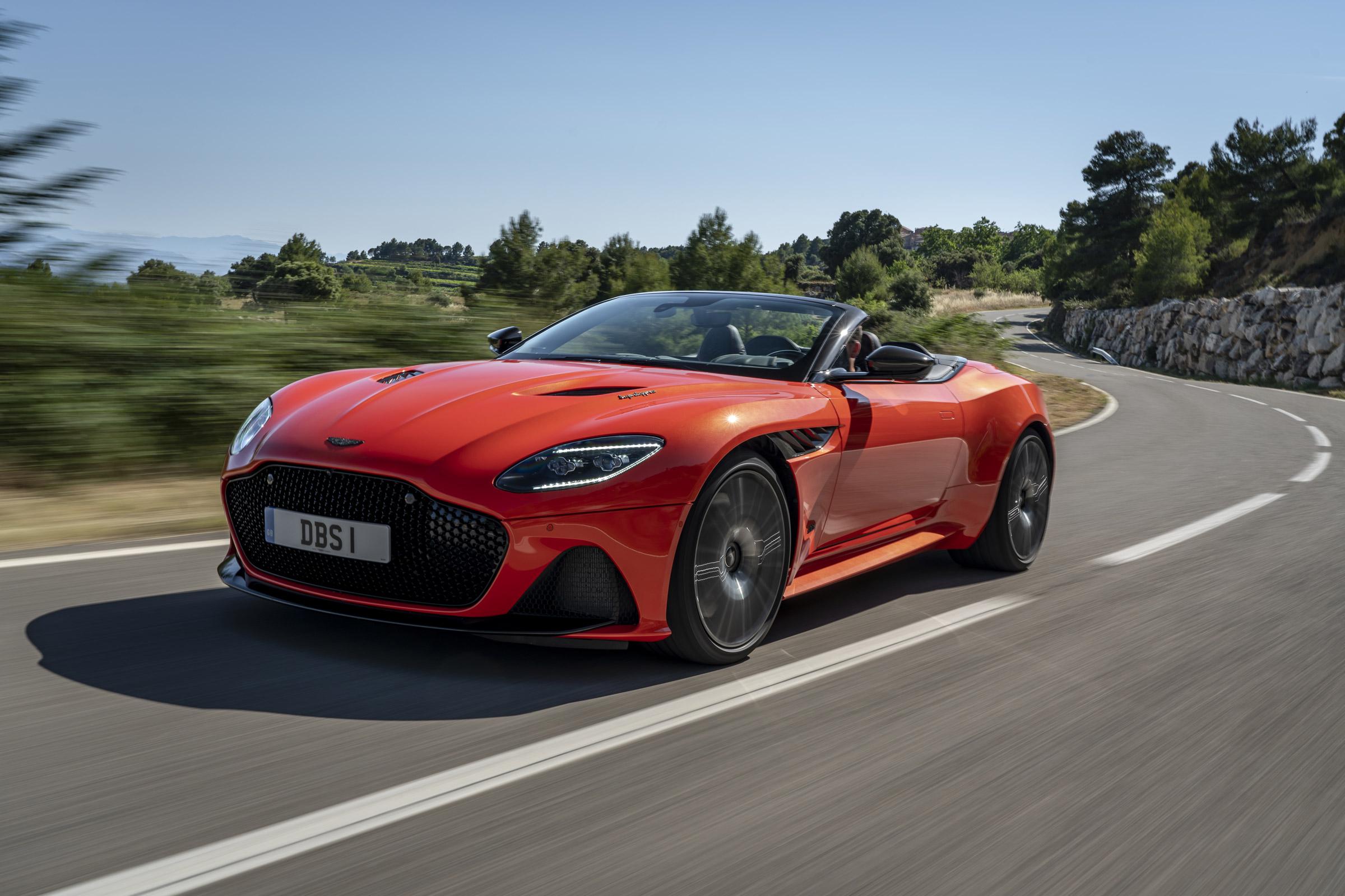 New Aston Martin Dbs Superleggera Volante 2020 Review Evo