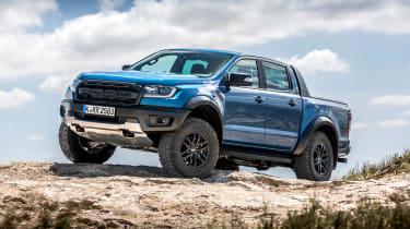 Ford Ranger Raptor - front quarter
