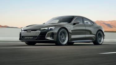 Audi E-tron GT Concept - front quarter