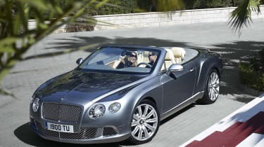 Bentley Continental GT gets updated gearbox