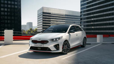 Kia Ceed GT revealed - 2018 front quarter