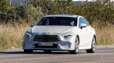 Mercedes-Benz CLS spy - front