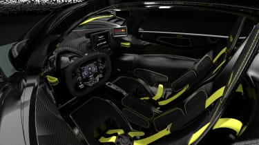 Aston Martin Valkyrie AMR - interior