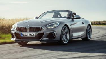 BMW Z4 M40i silver - nose