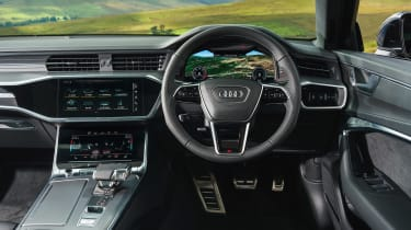 Audi A6 Estate S-Line - console