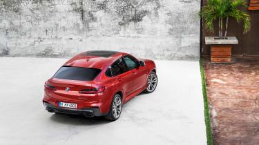 BMW X4 M40d - rear top